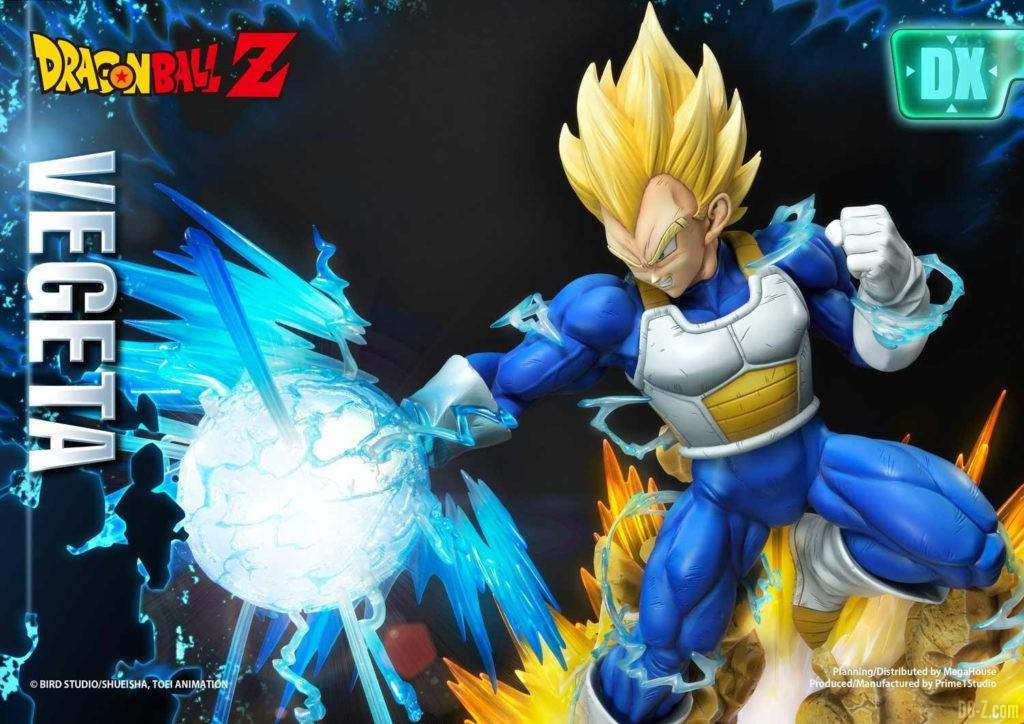 Statue Mega Premium Masterline Dragon Ball Z Super Saiyan Vegeta DX 78