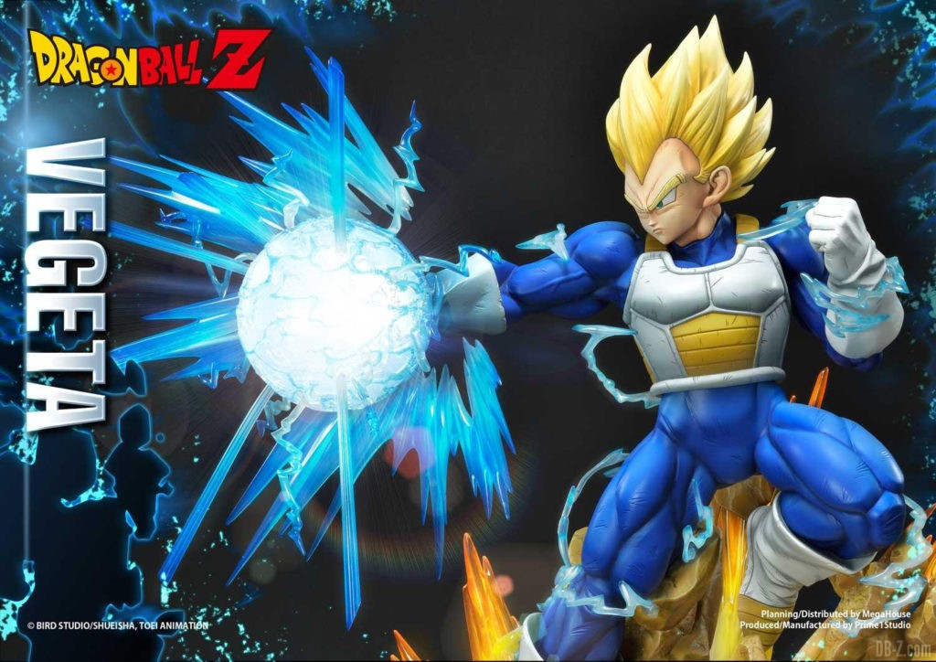 Statue Mega Premium Masterline Dragon Ball Z Super Saiyan Vegeta DX 79