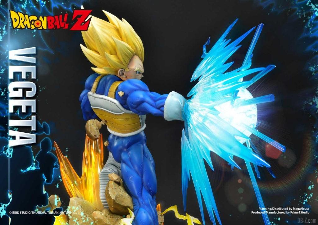 Statue Mega Premium Masterline Dragon Ball Z Super Saiyan Vegeta DX 81