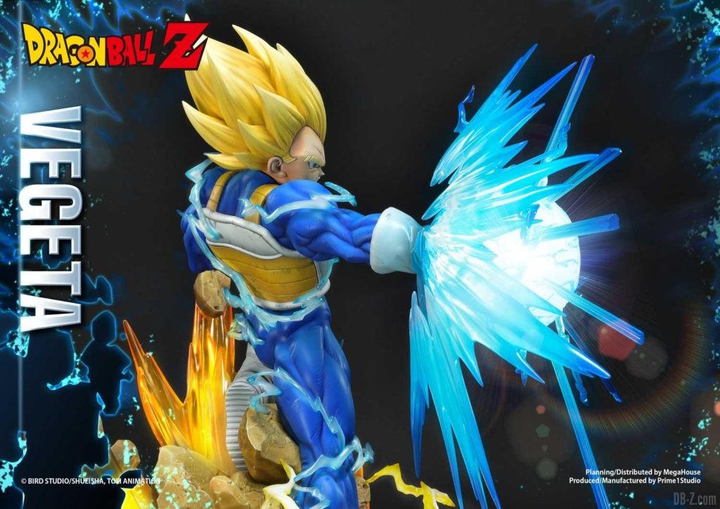 Statue Mega Premium Masterline Dragon Ball Z Super Saiyan Vegeta DX 82