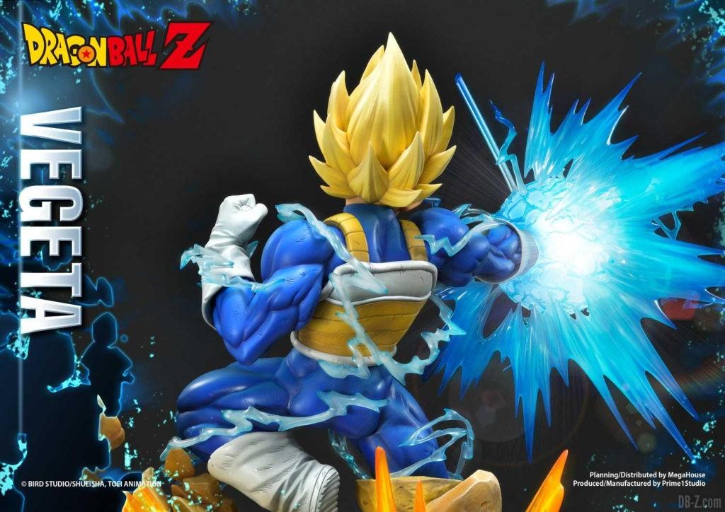 Statue Mega Premium Masterline Dragon Ball Z Super Saiyan Vegeta DX 83