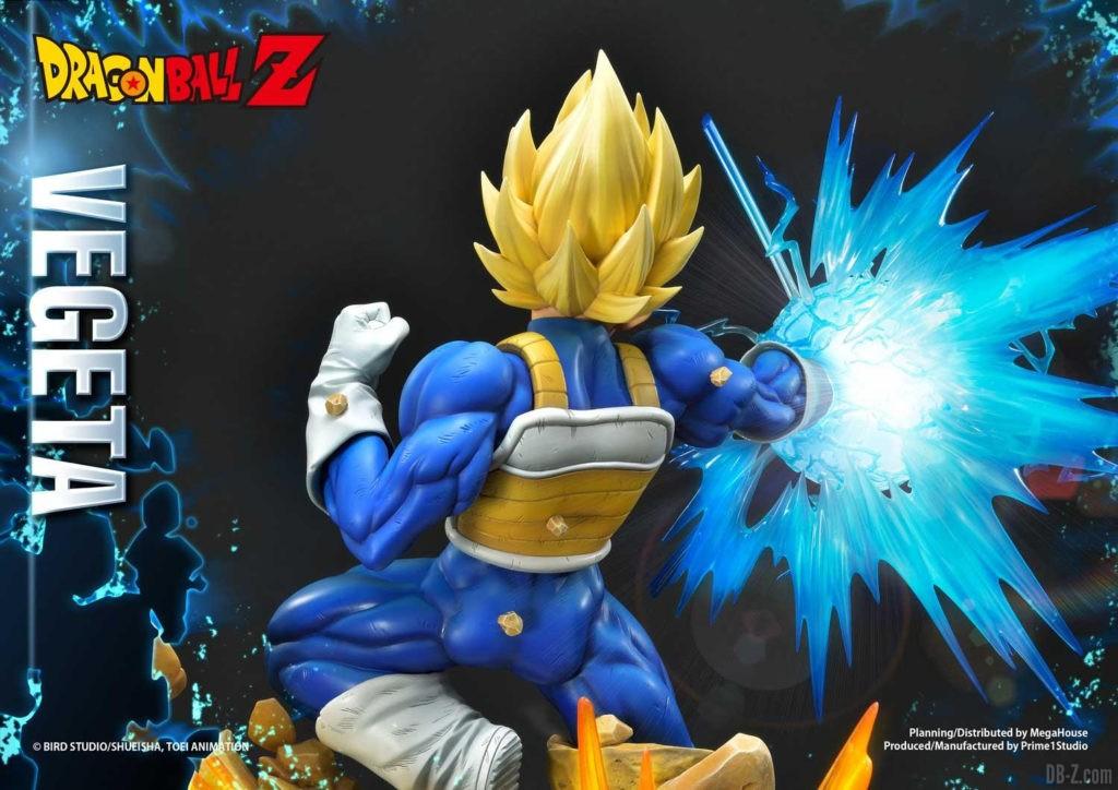 Statue Mega Premium Masterline Dragon Ball Z Super Saiyan Vegeta DX 84