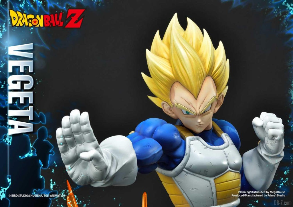 Statue Mega Premium Masterline Dragon Ball Z Super Saiyan Vegeta DX 85
