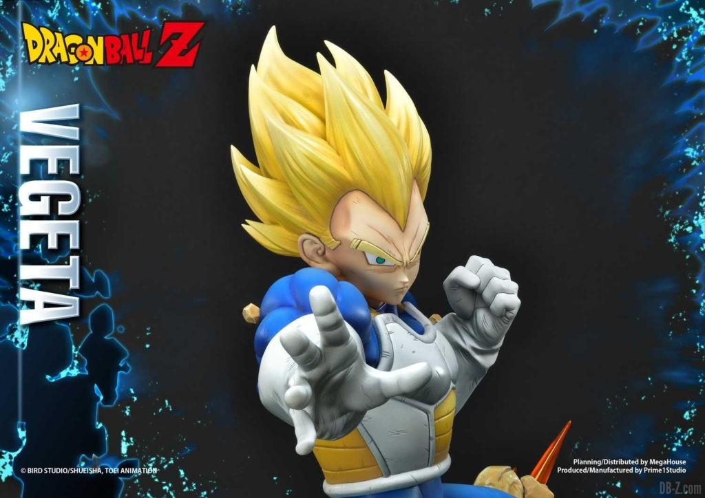 Statue Mega Premium Masterline Dragon Ball Z Super Saiyan Vegeta DX 86