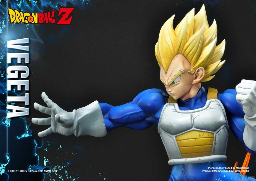 Statue Mega Premium Masterline Dragon Ball Z Super Saiyan Vegeta DX 87