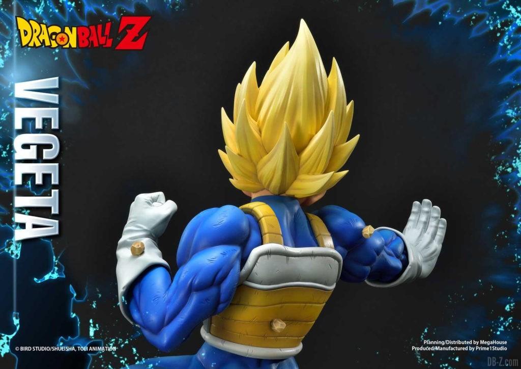 Statue Mega Premium Masterline Dragon Ball Z Super Saiyan Vegeta DX 88