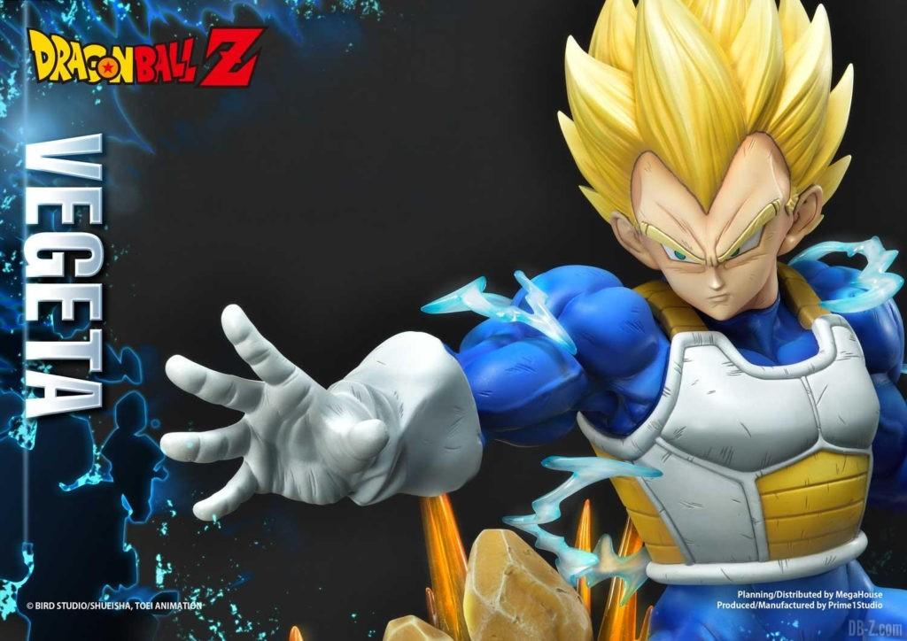 Statue Mega Premium Masterline Dragon Ball Z Super Saiyan Vegeta DX 89