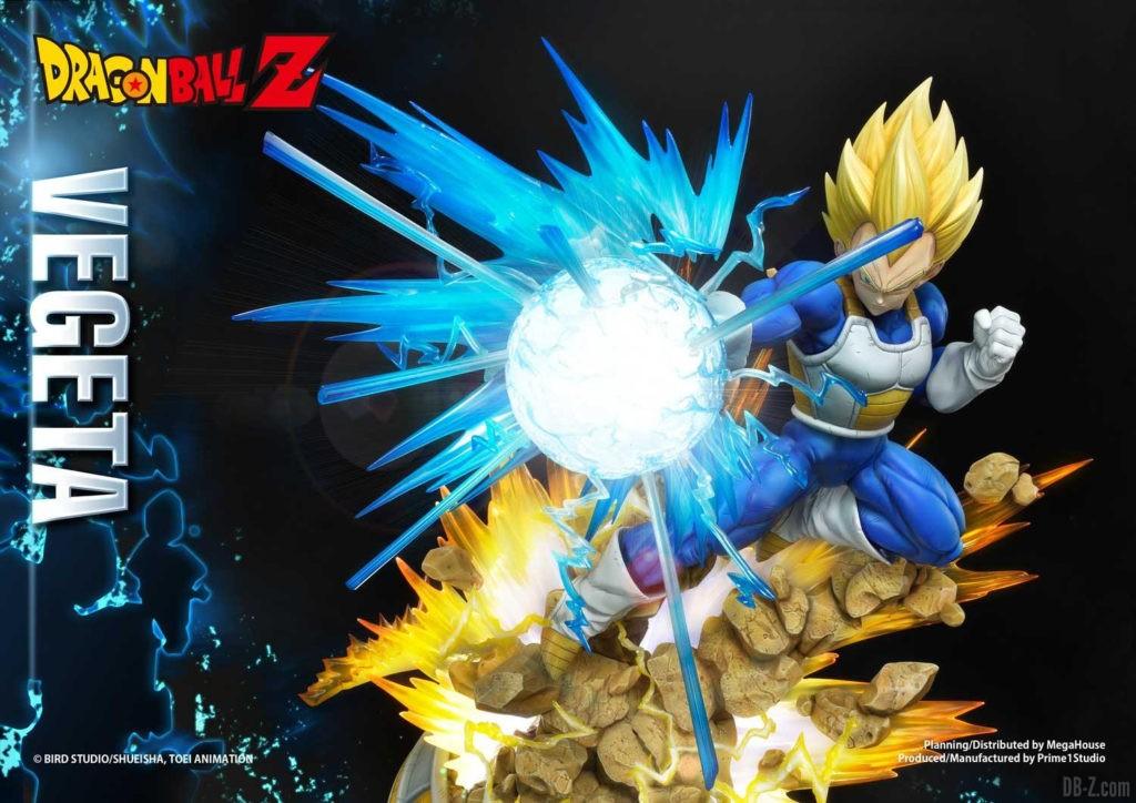 Statue Mega Premium Masterline Dragon Ball Z Super Saiyan Vegeta DX 90