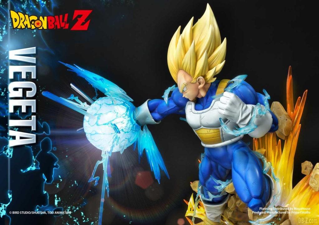Statue Mega Premium Masterline Dragon Ball Z Super Saiyan Vegeta DX 91