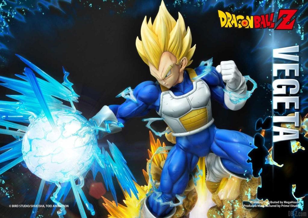 Statue Mega Premium Masterline Dragon Ball Z Super Saiyan Vegeta DX 92
