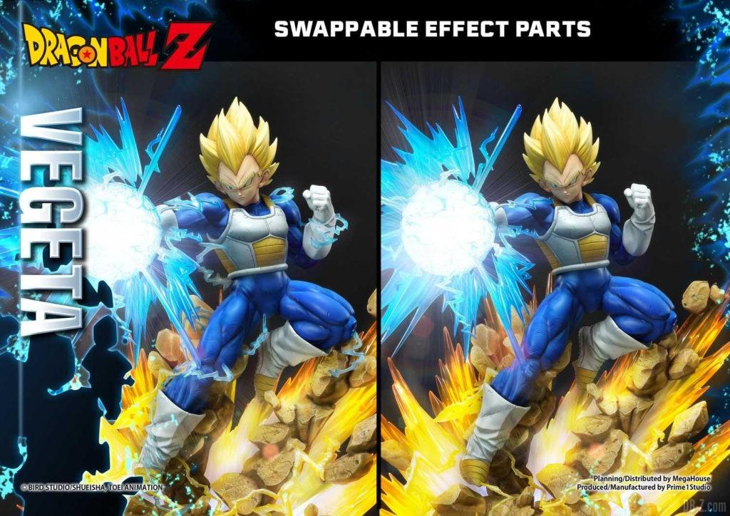 Statue Mega Premium Masterline Dragon Ball Z Super Saiyan Vegeta DX 93