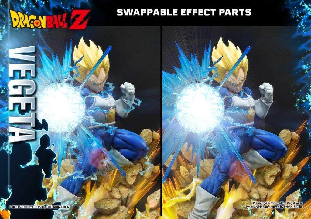 Statue Mega Premium Masterline Dragon Ball Z Super Saiyan Vegeta DX 94