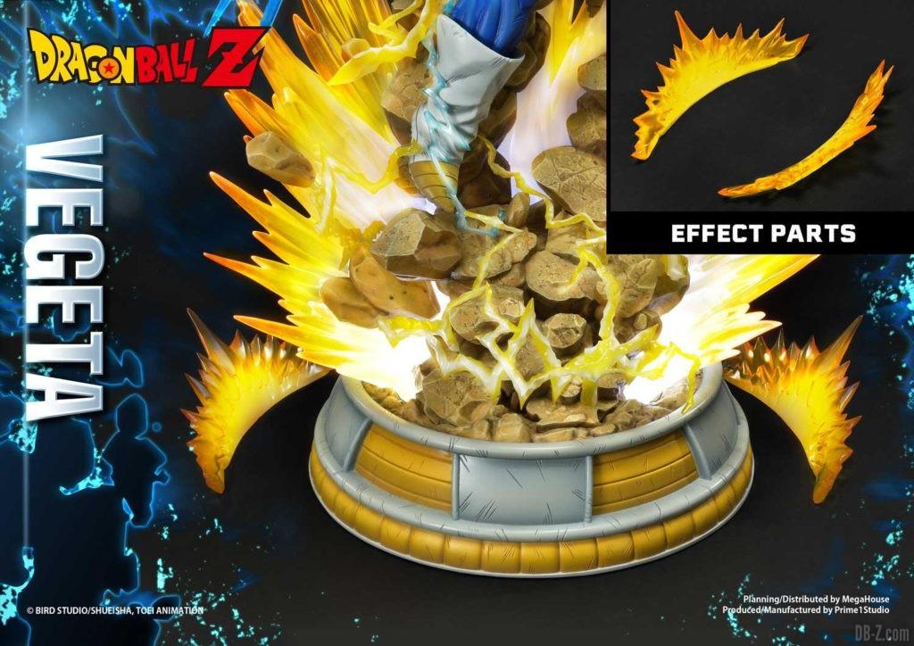Statue Mega Premium Masterline Dragon Ball Z Super Saiyan Vegeta DX 95