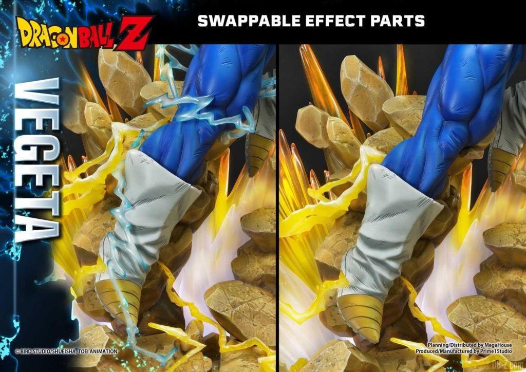 Statue Mega Premium Masterline Dragon Ball Z Super Saiyan Vegeta DX 96