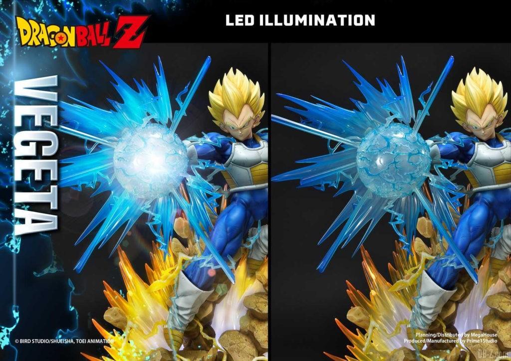 Statue Mega Premium Masterline Dragon Ball Z Super Saiyan Vegeta DX 97