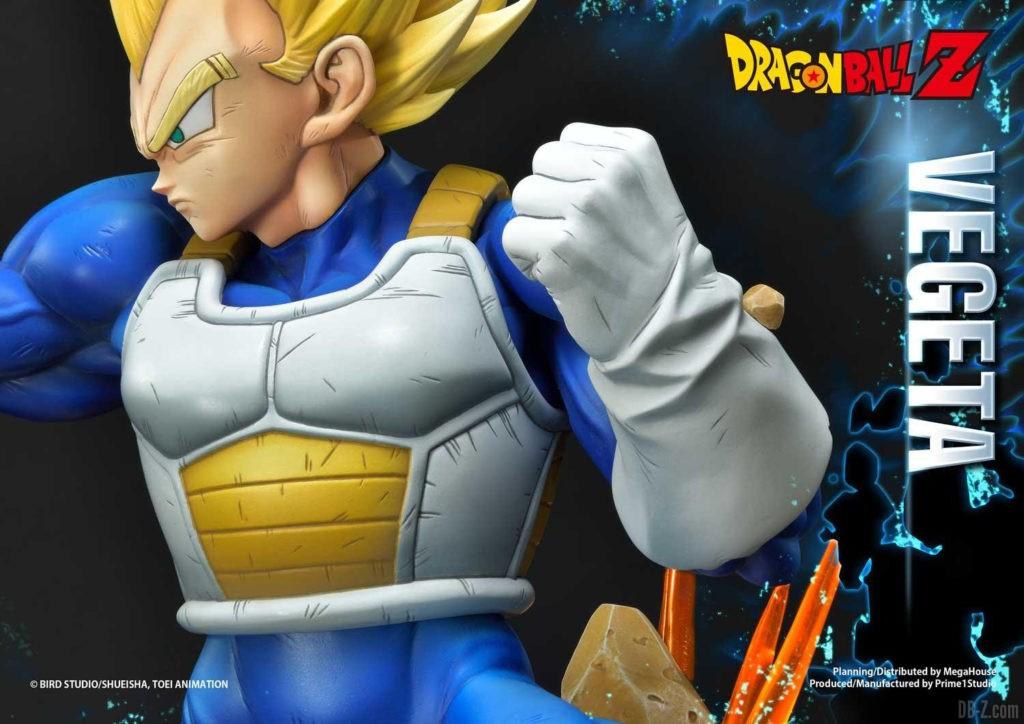 Statue Mega Premium Masterline Dragon Ball Z Super Saiyan Vegeta DX 99