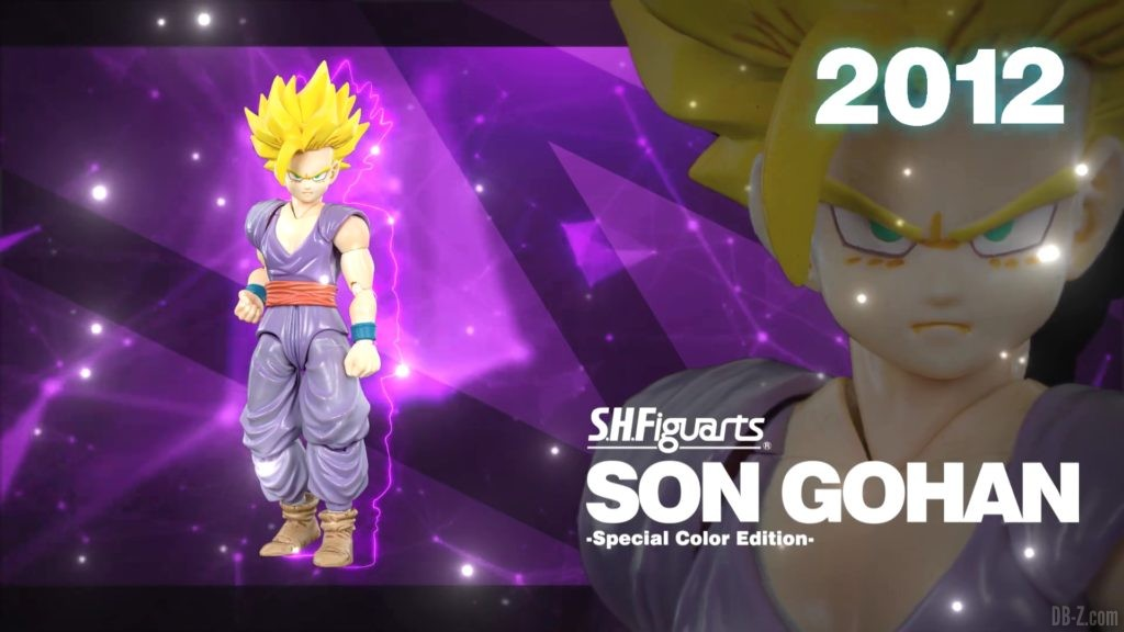 Tamashii Nations Event Exclusives 02 SHFiguarts Son Gohan Special Color Edition