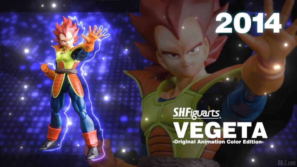 Tamashii Nations Event Exclusives 04 SHFiguarts Vegeta Original Animation Color Edition