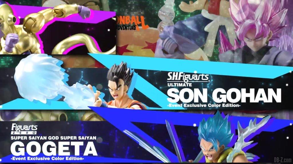 Tamashii Nations Event Exclusives 12 SHFiguarts Son Gohan et Gogeta SSGSS Event Exclusive Color Edition