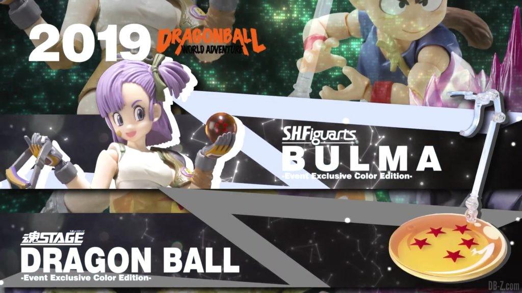 Tamashii Nations Event Exclusives 13 SHFiguarts Bulma et Tamashii Stage Event Exclusive Color Edition