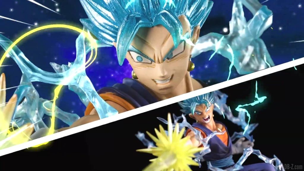 Tamashii Nations Event Exclusives 17 Figuarts Zero Vegetto SSGSS Event Exclusive Color Edition