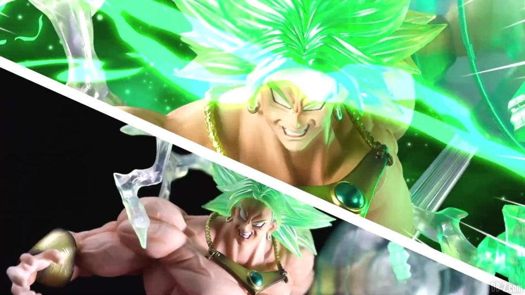 Tamashii Nations Event Exclusives 18 SHFiguarts Figuarts Zero Super Saiyan Broly The Burning Battles Event Exclusive Color Edition