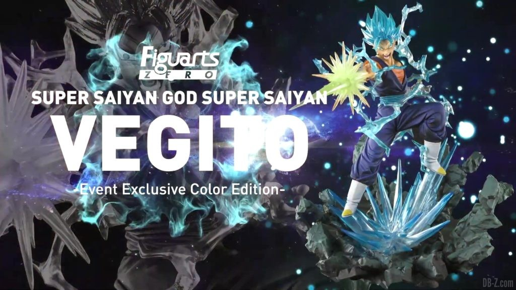 Tamashii Nations Event Exclusives 23 Figuarts Zero Vegetto SSGSS Event Exclusive Color Edition
