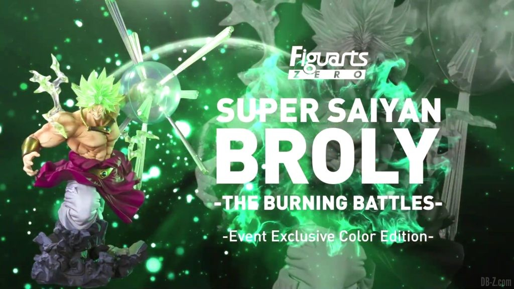 Tamashii Nations Event Exclusives 24 Figuarts Zero Super Saiyan Broly The Burning Battles Event Exclusive Color Edition