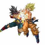 Toyotaro dessine Bardock et Goku Super Saiyan