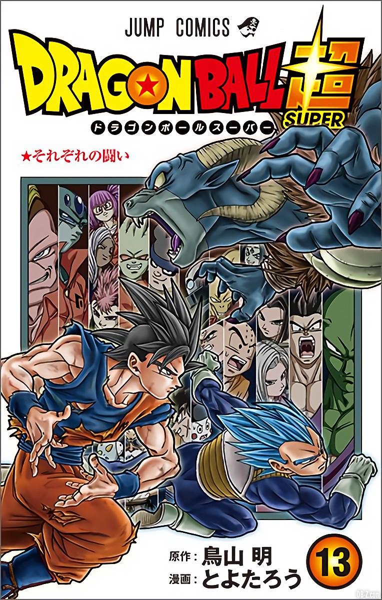 Un meilleur aperçu de la cover du tome 13 de Dragon Ball Super attendu ce 4 août au Japon