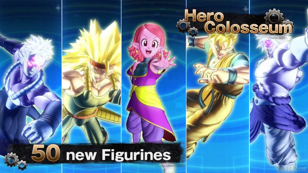 50 figurines Hero Colosseum