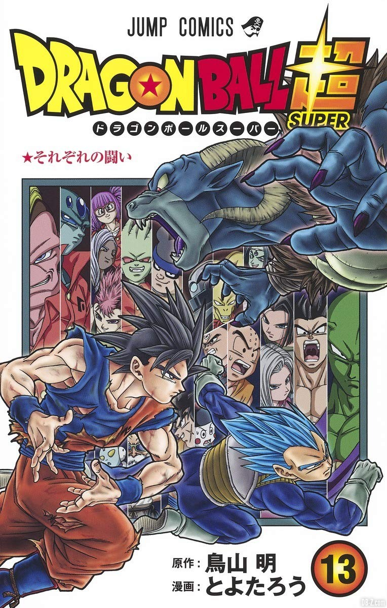 Cover tome 13 Dragon Ball Super