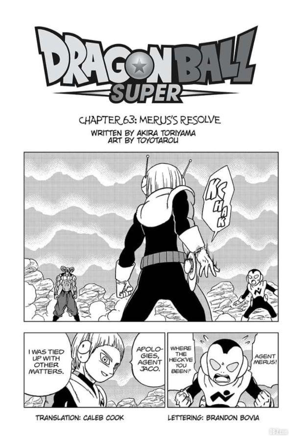 Dragon Ball Super Chapitre 63 complet