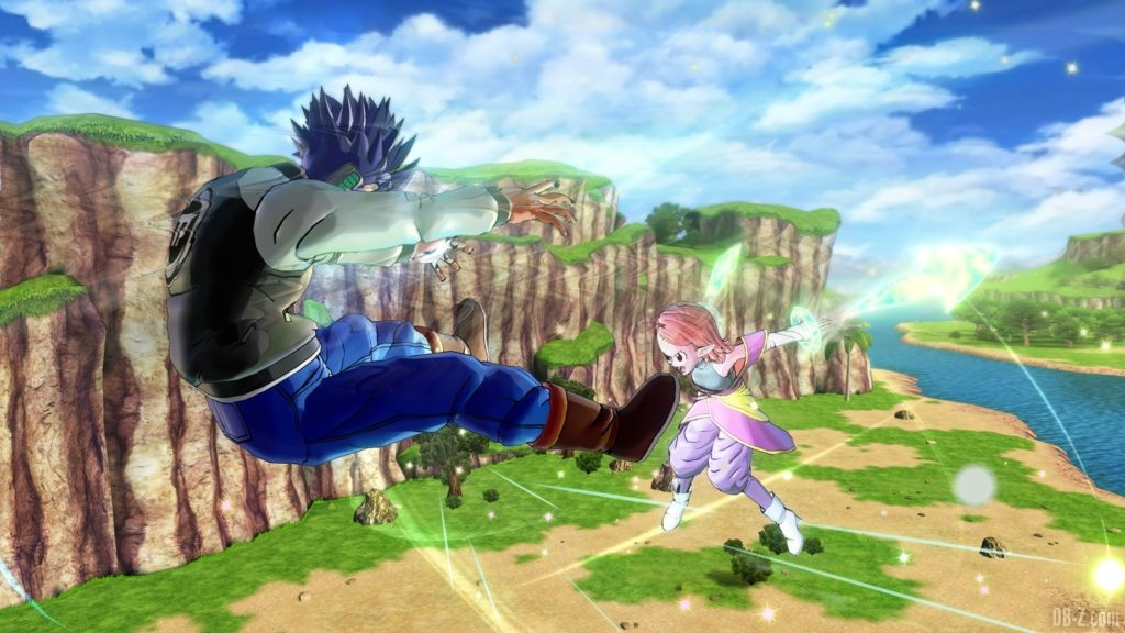 Dragon Ball Xenoverse 2 Kaioshin du Temps Chronoa vs Avatar