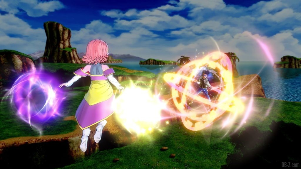 Dragon Ball Xenoverse 2 Kaioshin du Temps attaque