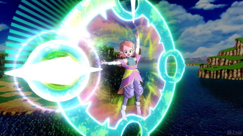 Dragon Ball Xenoverse 2 La Kaioshin du Temps arrête le temps