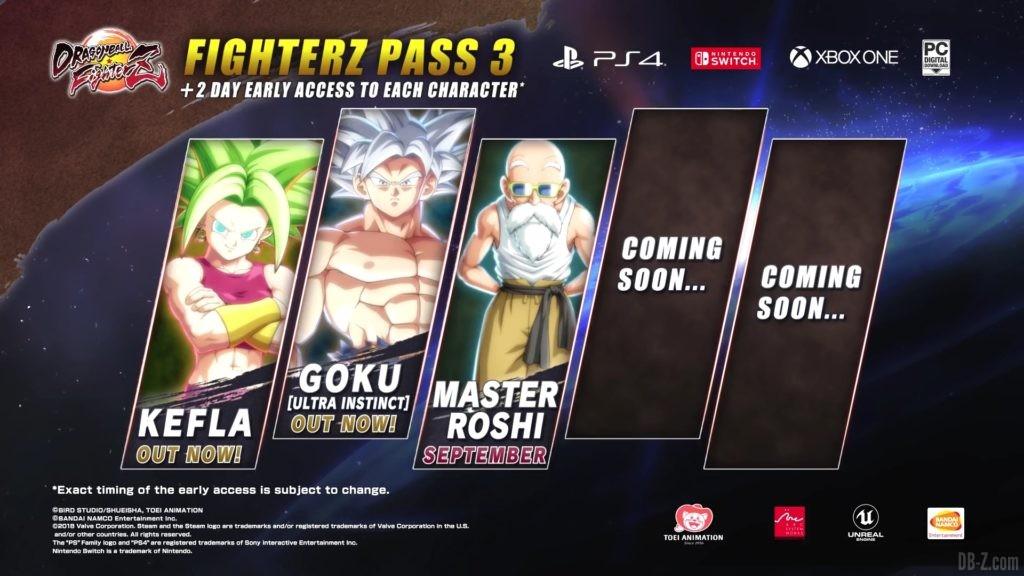 FighterZ Pass 3 Annonce Kame Sennin 1