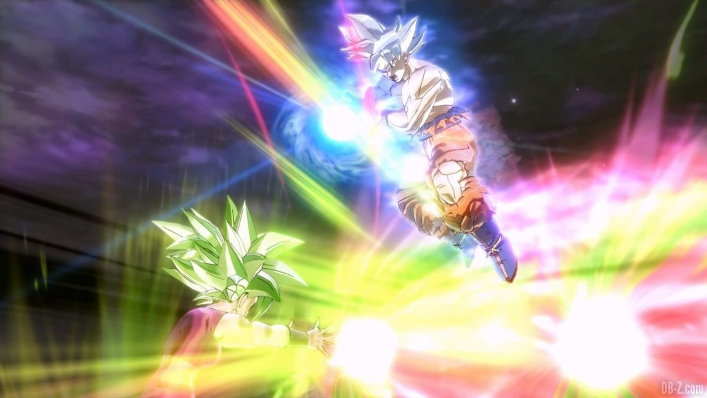Kamehameha Divin Goku Ultra Instinct Dragon Ball Xenoverse 2