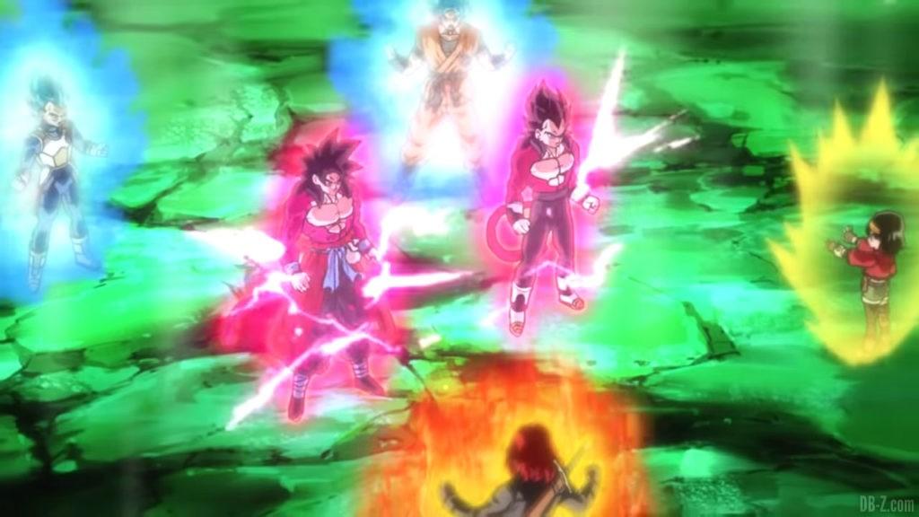Rituel Super Full Power Saiyan 4