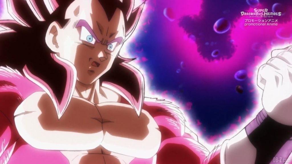 SDBH Big Bang Mission Episode 6 2020 08 27 Image 31 Super Full Power Saiyan 4 Goku et Vegeta