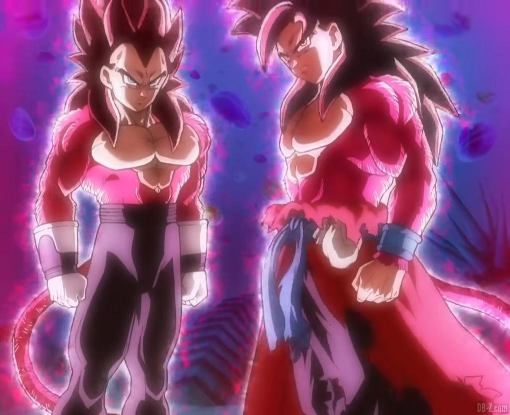 Super Full Power Saiyan 4 Goku Xeno Vegeta Xeno