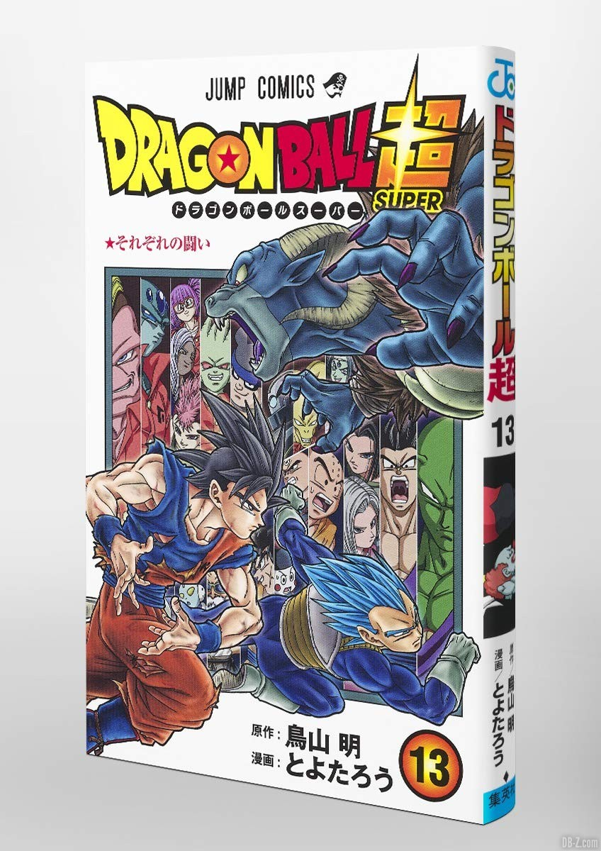 Tranche tome 13 Dragon Ball Super