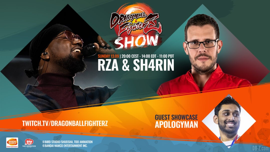 Dragon Ball FighterZ Showcase 13 septembre