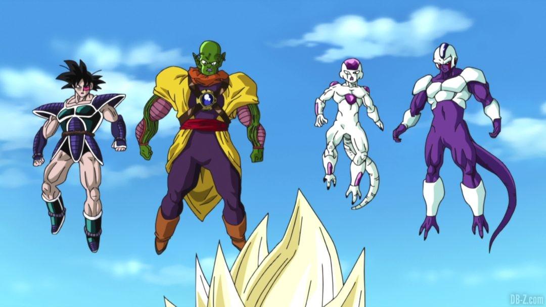 Dragon Ball Plan Eradication Super Saiyan Anciens ennemis 1