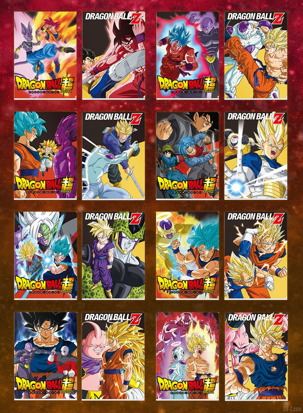 Clearfile Ichiban Kuji Dragon Ball Super VS Omnibus