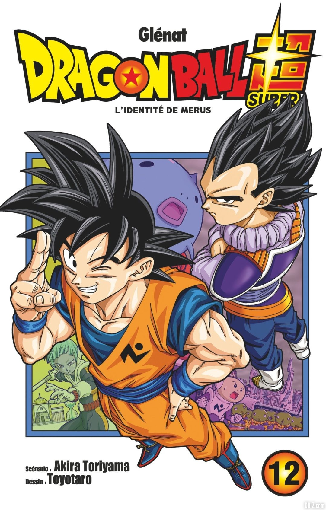 Couverture Tome 12 de Dragon Ball Super en VF
