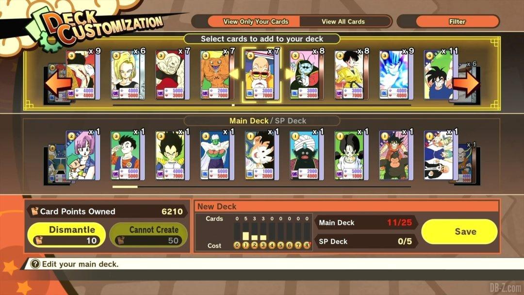 Dragon Ball Card Warriors DBZ Kakarot Image 03