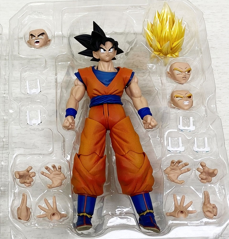 Imagination Works Son Goku Packaging ouvert