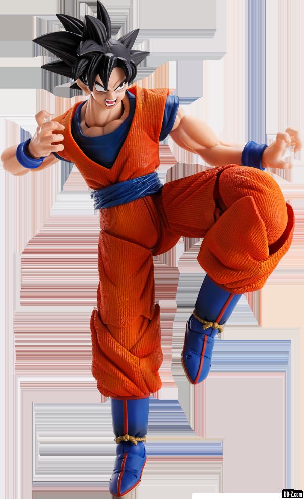 Imagination Works Son Goku Render 1