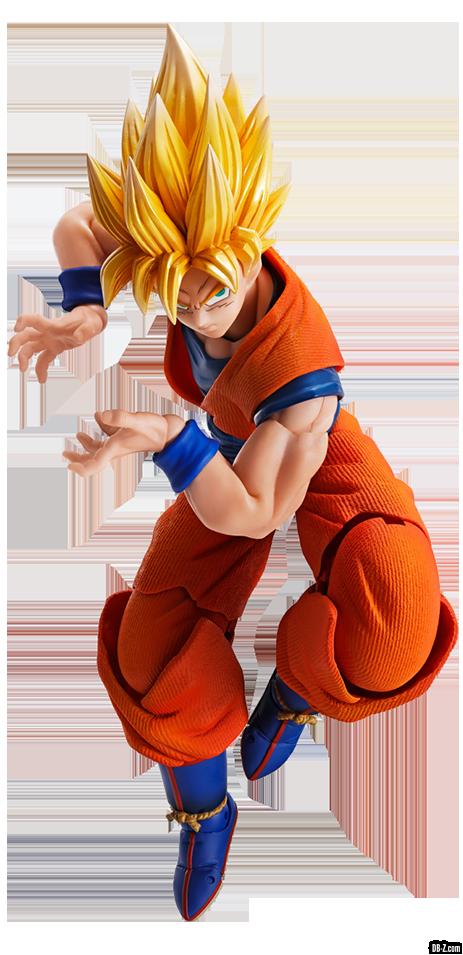Imagination Works Son Goku Super Saiyan Render 1